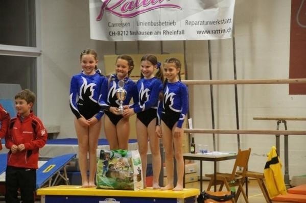 Für Miika, Aysha, Sarah und Janine reichte es zum sensationellen Sieg!