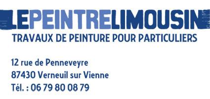 Carta de vesita Le Peintre Limousin