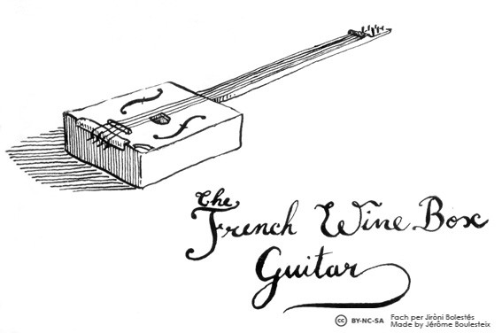 The French Wine Box Guitar