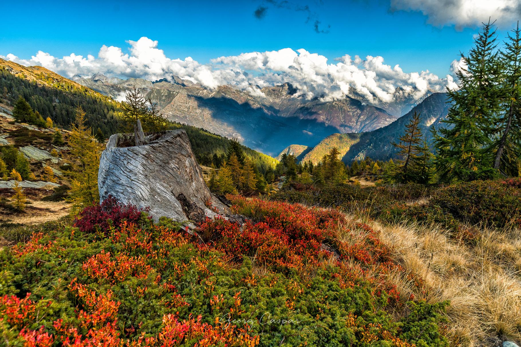Die Bergwelt Alzasca