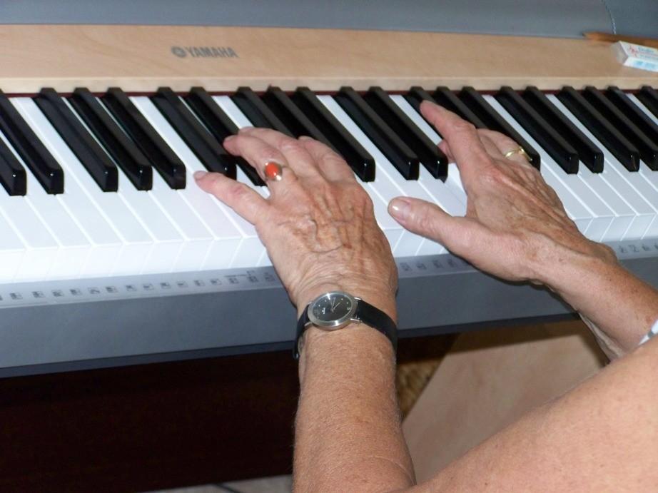 Mit über siebzig nochmal mit Klavierspielen beginnen?