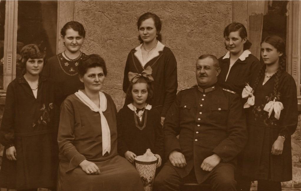 Urgroßeltern in den 1920er Jahren