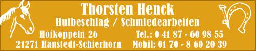 Bild: Unser Schmied für dieKutschpferde und für unsere Gäste im Notfall:Thorsten Henck