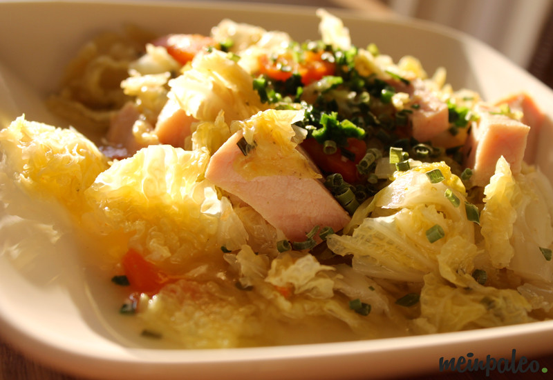 Wirsing-Karotteneintopf mit Kassler