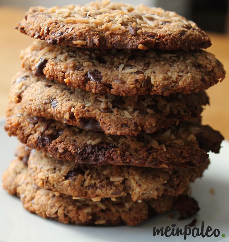 Glutenfreie Paleo-Schoko-Kokos-Kekse