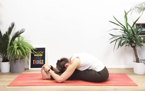 Pascimatânâsana - posture de l'étirement postérieur