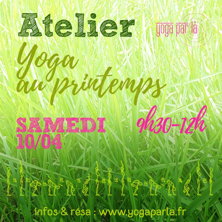 Atelier Yoga au printemps