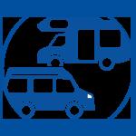 Solaranlagen, Solarmodule, Laderegler, Wechselrichter und komplette Solarstromanlagen für Wohnmobil, Reisemobil, Camper. Sonnenstrom von SOLARA für Inselanlagen, unabhängige Stromversorgung zur Montage auch auf dem Dach vom Kastenwagen, Van und Wohnwagen.