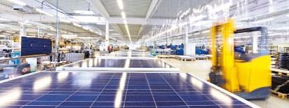 Solara Werk Wismar. Produktion Made in Germany von Solarmodulen für Camper, Wohnmobile, Segelboote. Zuverlässige unabhängige und autarke Stromversorgung weltweit mit Solarmodule und Photovolatik von Solara und Solarmodulen aus Deutschland - über 20 Jahre!