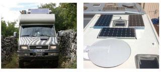 DCSolar Solaranalagen für off road Fahrzeuge als auch Wohnmobile, Camper, Kastenwagem Wohnwagen, Segelboote und Reisemobile. Durch höchste Qulalität alle Tests hervorragend bestanden.  Einmalig für die unabhängige Stromversorgung mit Solarstrom.