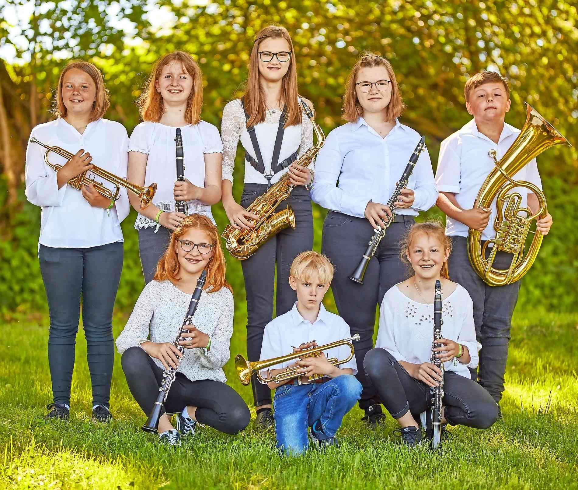 Früh übt sich: der musikalische Nachwuchs. Foto: Marc Föhr
