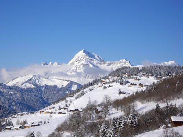 Le mont Charvin Dimanche matin