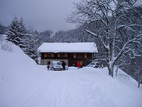 Promo sur la neige FRAICHE...une fois le chemin vaincu !