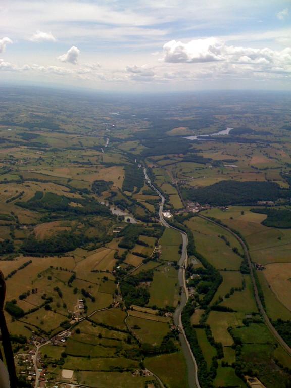 Le canale de Bourgogne, vers St-Berain-sur Dheune