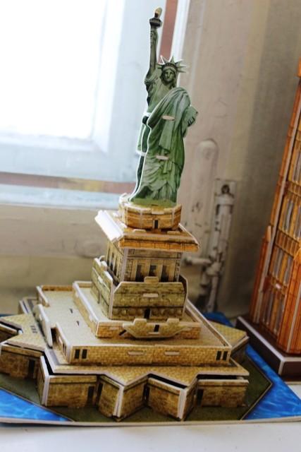 Статуя Свободы (выполнила учащаяся 5 Б класса Кузьменкова Светлана