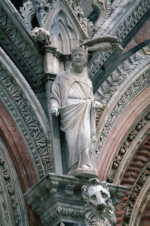 Siena-Cattedrale di Santa Maria Assunta-particolare