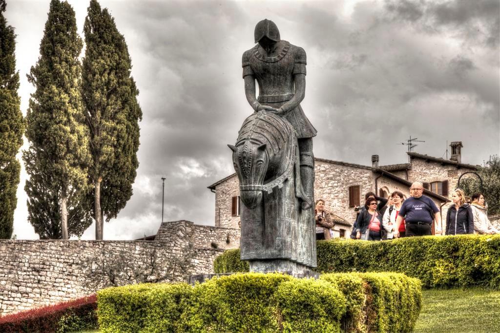 Assisi-il ritorno di San Francesco