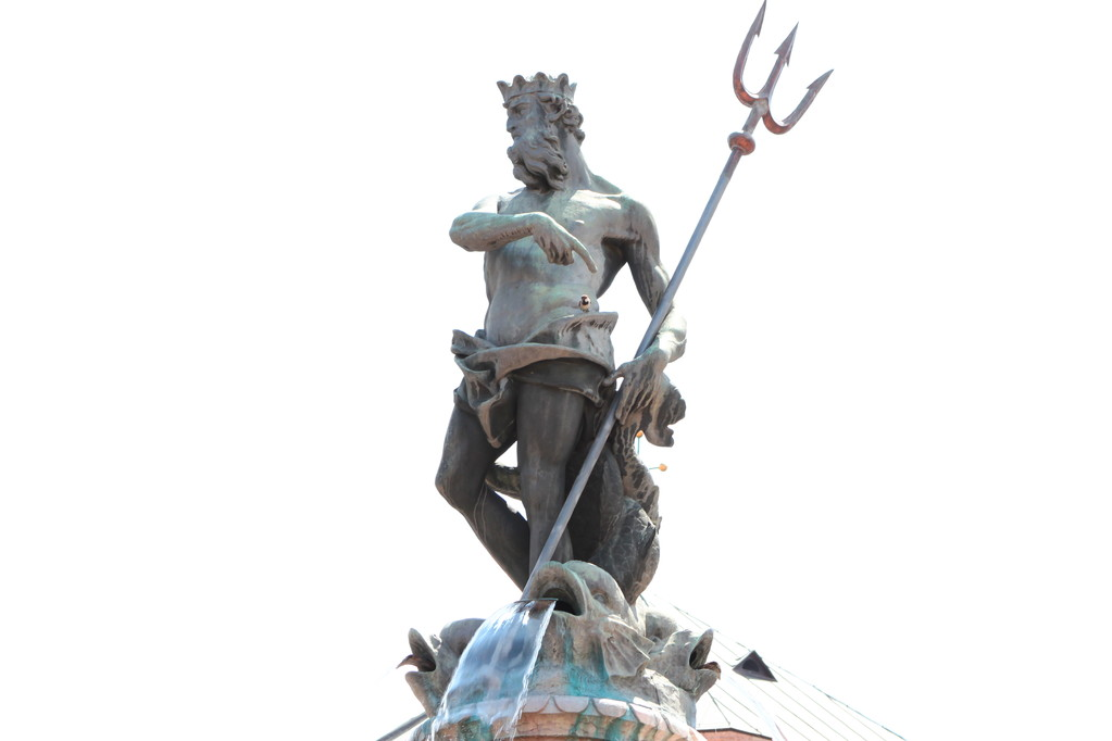 Trento. Fontana del Dio Nettuno -particolare-