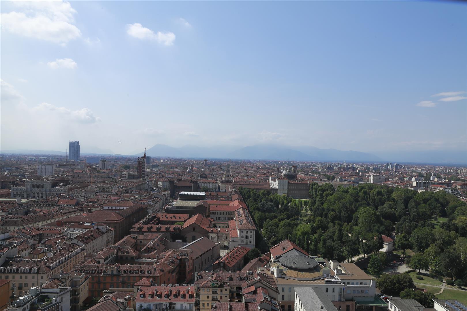 Torino-dall'alto della Mole Antonelliana