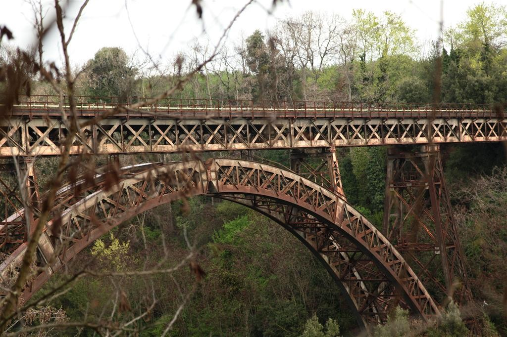 Ponte della ferrovia 1928