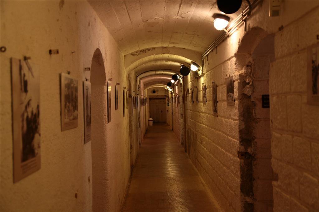 """Un corridoio del """"Forte Belvedere"""""""