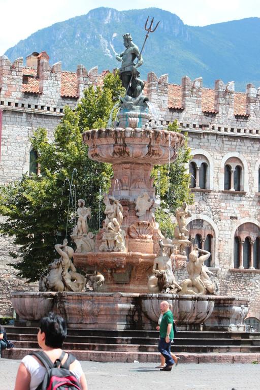Trento Fontana del Dio Nettuno