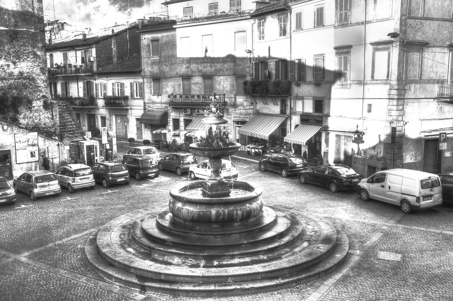 Ronciglione - Fontana Grande o degli Unicorni