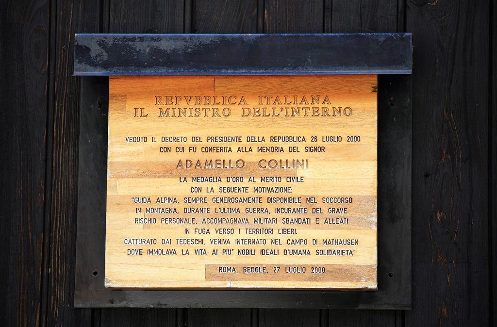 In memoria di Adamello Collini