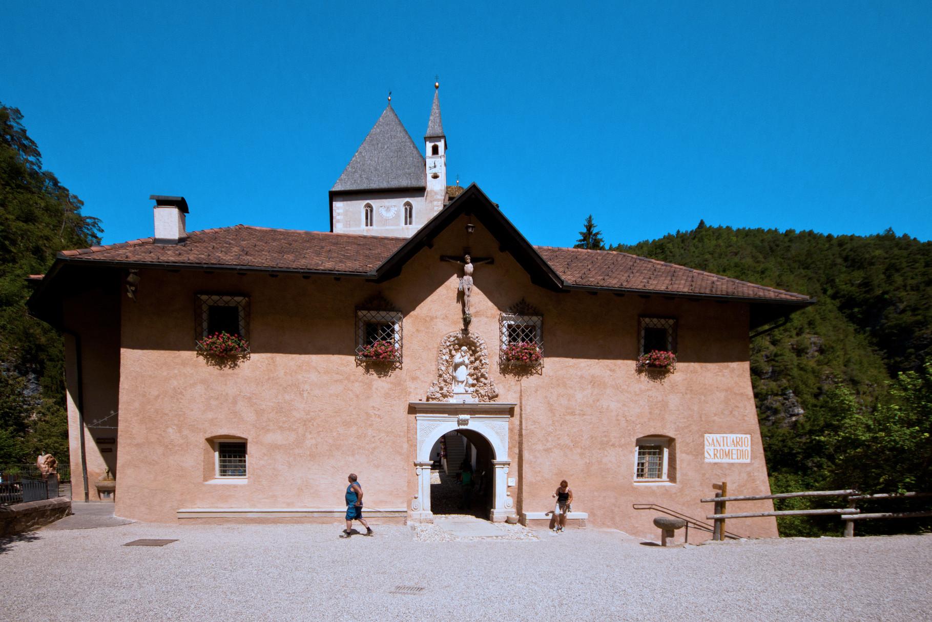 Santuario di San Romedio -Sanzeno (TN)-