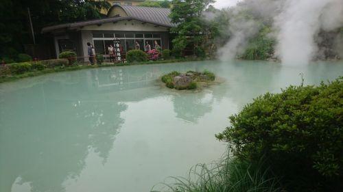 大分県白池地獄2(九州工場)