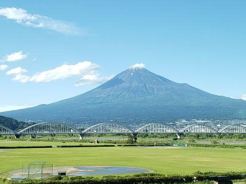 富士山地上より