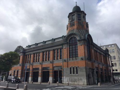 門司港を代表する歴史建設のひとつ、旧大阪商船門司支店。
