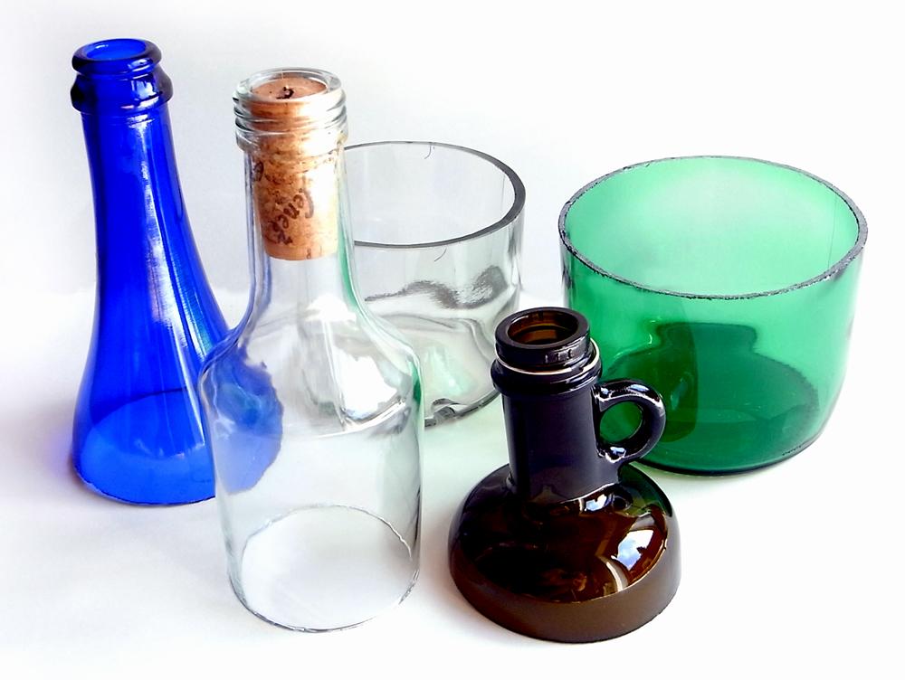 Kurs Flaschen schneiden Beispiel