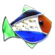Fisch Tiffany Fensterbild
