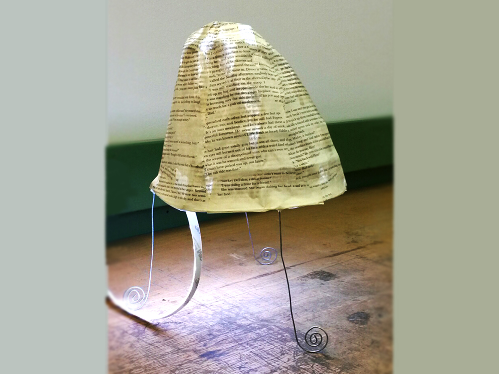 Kurs Lampenbau Lampe eines Teilnehmers