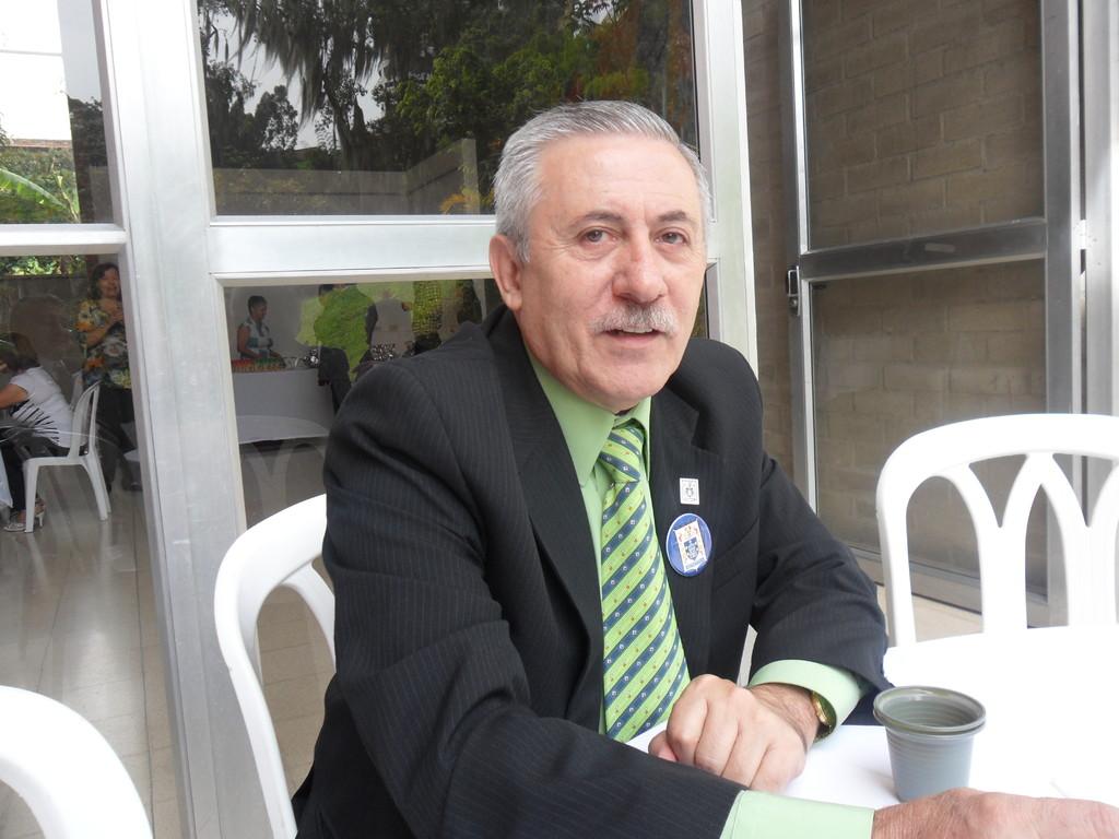 Doctor Álvaro Vanegas Montoya - Presidente de F.I Casa Montoya