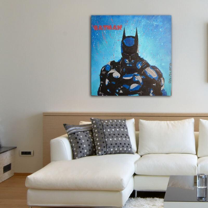 aperçu commande portrait batman