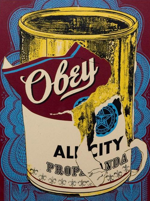 shepard fairey obey warhol andy soup