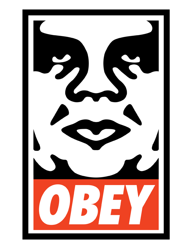 OBEY Original logo by shepard fairey