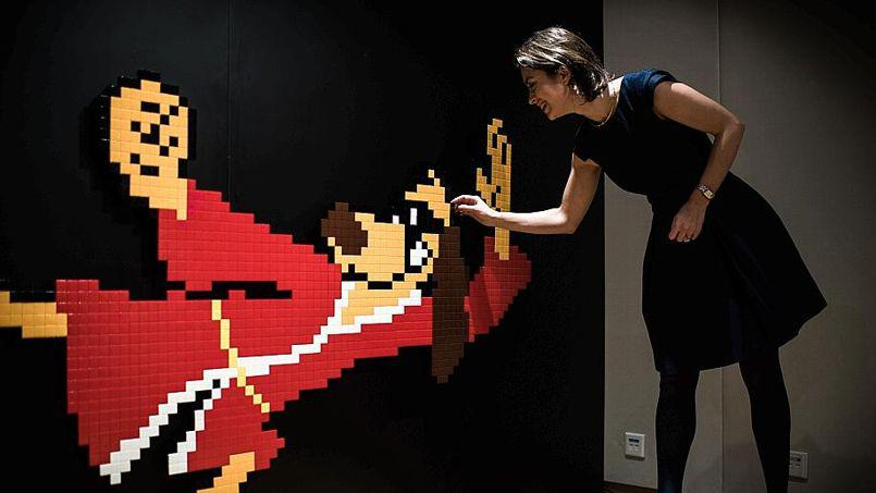 Space invader record vente enchère street art hong kong fou fou