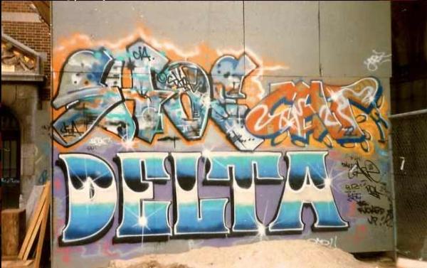 les pionnier graffiti français paris