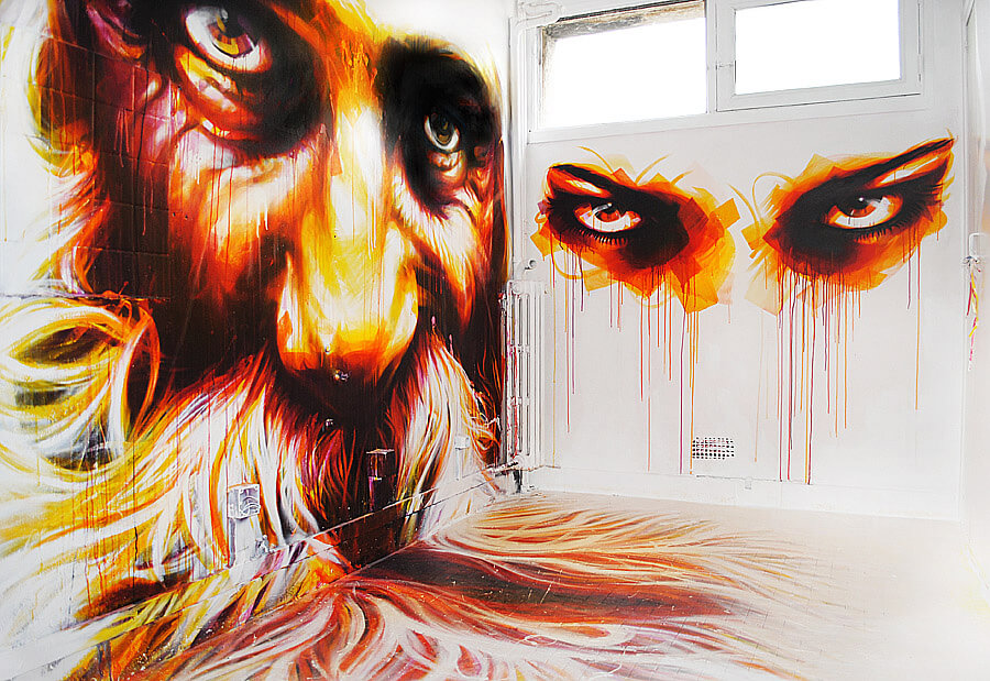 tour paris 13 dan 23 street art