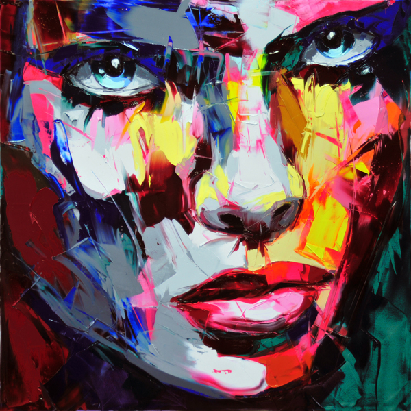 françoise nielly art painting woman