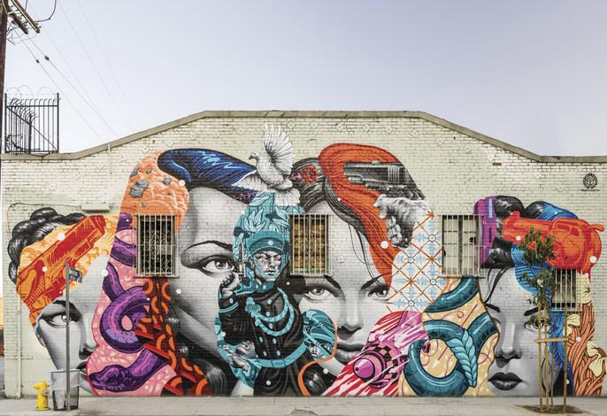 Tristan Eaton - fresque murale
