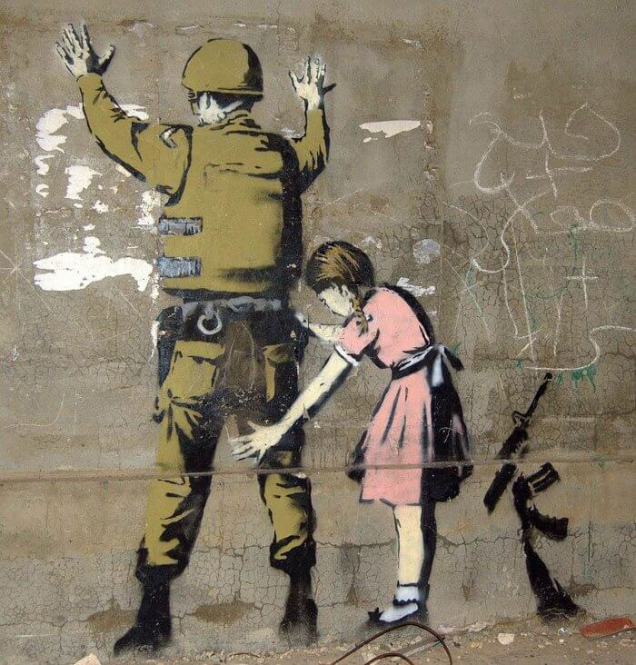 Best of Banksy : oeuvres engagees et denonciation de l'artiste - Slave 2.0