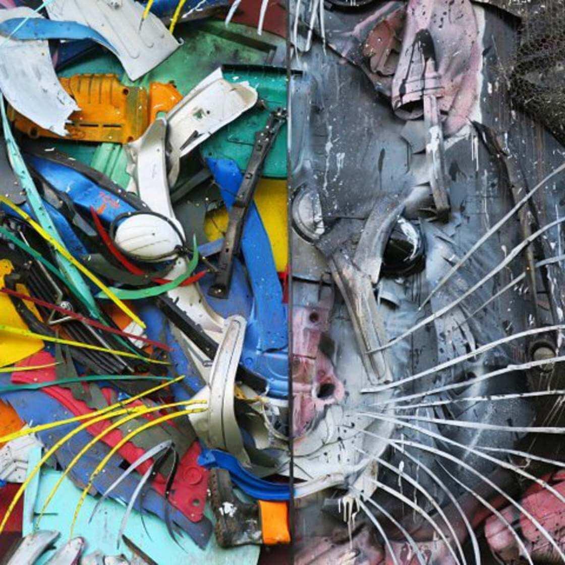 street-art-déchet-denonciation-écologie-bordalo2-souris-double-face