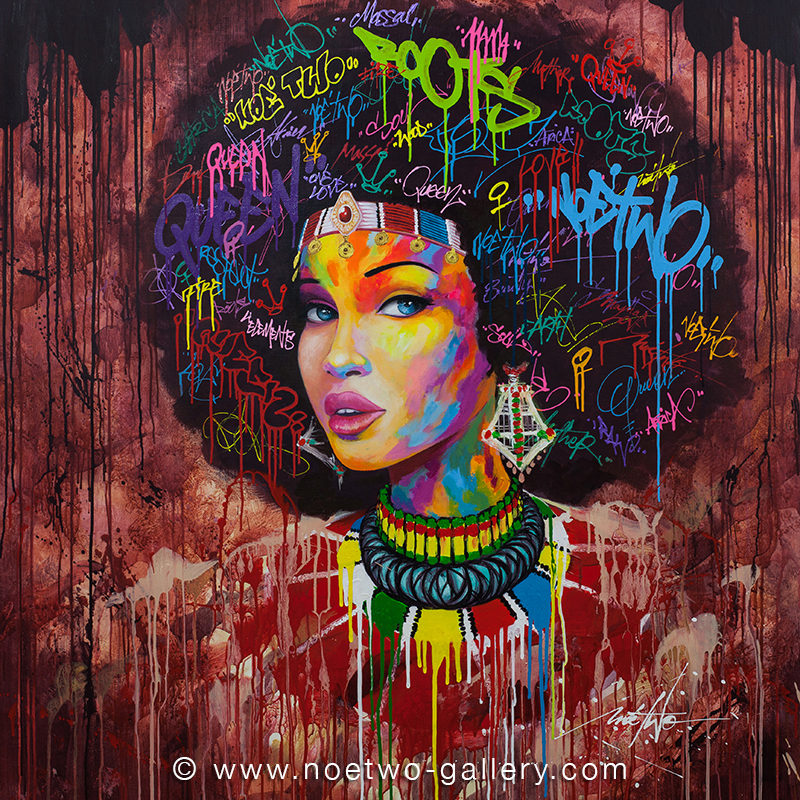 Noe-Two-Street-Art-funky-woman