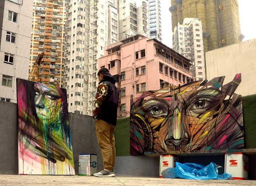 Hopare tableaux ville