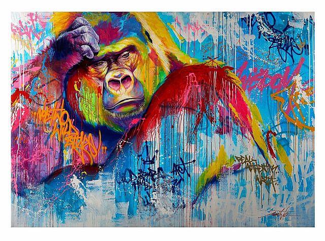 Noe-Two-Street-Art-gorilla