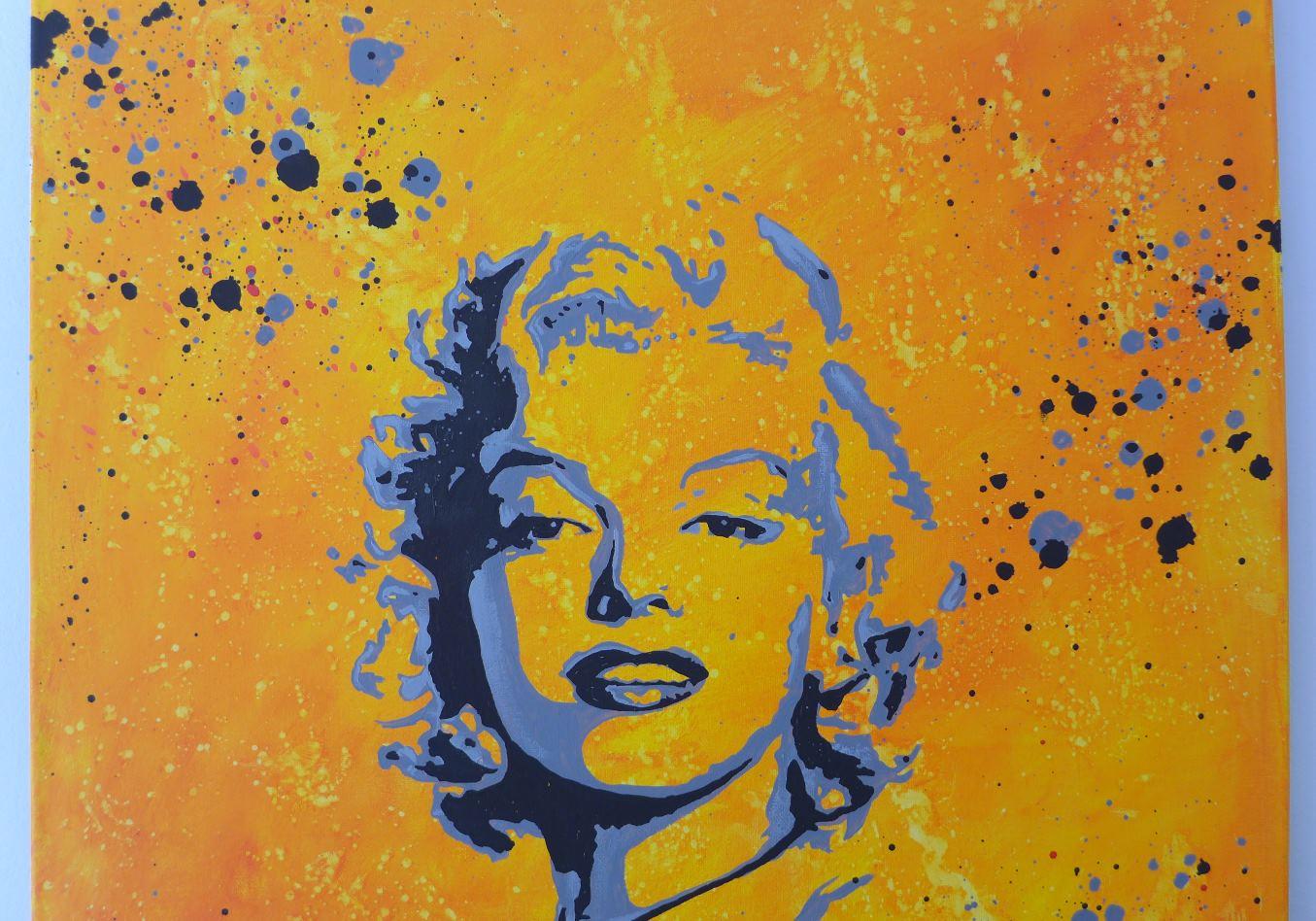 Tableau Street Art Marilyn Monroe Glamour - Slave 2.0